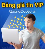 Báo giá đăng tin VIP