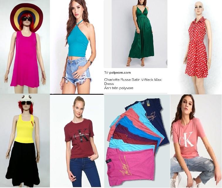 Bán nguyên lô giá cực rẻ,áo kiểu,áo đầm thời trang sành điệu cho..
