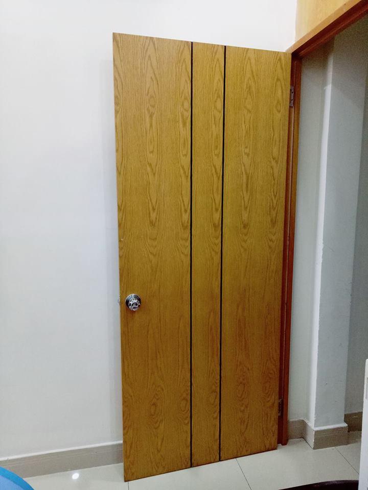Cửa gỗ công nghiệp,cửa nhựa ,cửa sổ cho nội thất q bình tân
