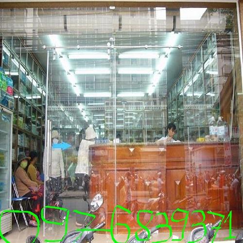 Cửa kính lùa treo - thi công cửa kính lùa treo