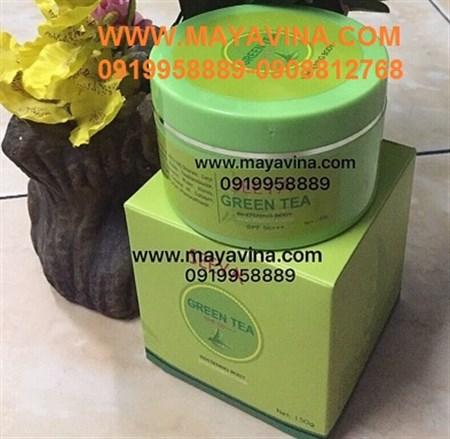 Kem body seeya green tea dưỡng trắng toàn thân