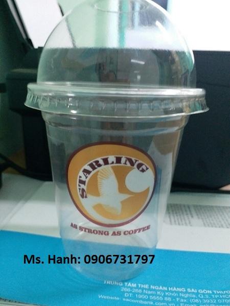 Ly nhựa 360/420ml dùng cho trà sữa và cafe take away