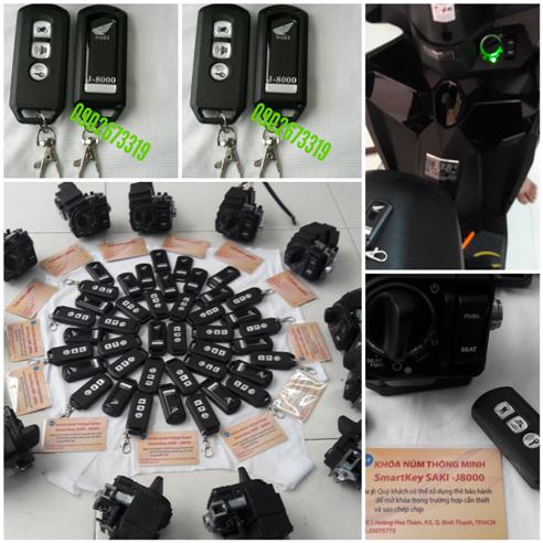 ổ khóa núm hãng honda smartkey-saki-j8000.giá 2.200.000k