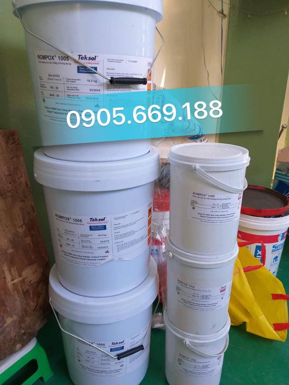 Cung cấp sơn nước và sơn epoxy các loại tại gia lai