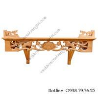 10+ mẫu bàn thờ treo tường đẹp phong cách hiện đại