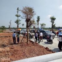 100 m2 đất mặt tiền quốc lộ 13 tchinhstthc huyện bàu bàng tc 100 % shr. lh 0949.