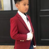 áo vest bé trai cao cấp màu đỏ (1-6 tuổi)