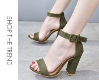 Bán giày cao gót đế vuông công sở nhiều kiểu dáng đẹp 2018 giá rẻ
