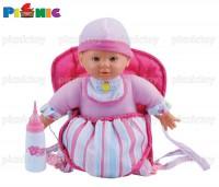 Bambolina - đồ chơi búp bê bambolina bú sữa 3 trong 1 kèm phụ kiện