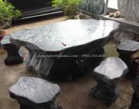 Bàn ghế đá đẹp - bàn nghế đá tự nhiên - đá mỹ nghệ thiên đức