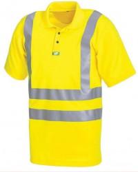Bán áo thun công nhân cổ trụ có phản quang tại bạc..