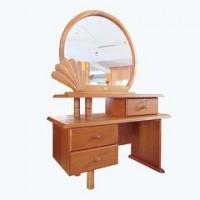 Bán bàn trang điểm tròn+ ghế gỗ xoan đào (hoàng anh gia lai)