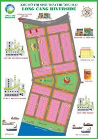 Bán đất mặt tiền chợ long cang,sổ hồng riêng 8.5tr/m2