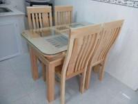 Bàn ghế gỗ, tủ quần áo, nội ngoại thất gỗ tự nhiên...