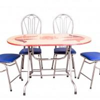 Bàn ghế inox siêu rẻ siêu bền siêu đẹp