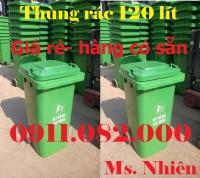 Bán hạ giá 1500 thùng rác 120 lít, 240 lít giá sỉ thấp nhất