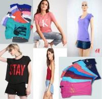 Bán nguyên lô áo phông thời trang,thun cotton mát mịn giá sỉ rẻ 19k
