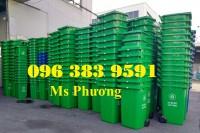 Bán thùng rác 60l, 120l, 240l, 660l giá rẻ toàn quốc