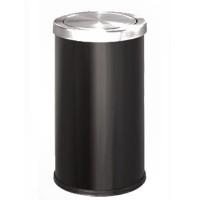 Bán thùng rác inox tròn nắp bập bênh giá siêu rẻ