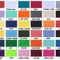 Bảng màu cho áo đồng phục