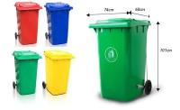 Bảng giá ctkm thùng rác nhựa 240lit, 120l, 60l: sốc nhất hè này!