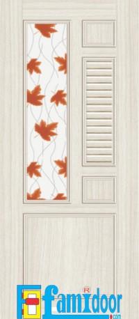 Báo giá cửa nhựa đài loan dùng cho cửa phòng ngủ, cửa phòng vệ sinh khu vực quận