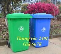 Báo giá thùng rác công cộng 240 lit 120 l 60 lít - giá từ 230k, giao hàng tq