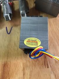 Biến áp đổi nguồn 220v sang 100v nhỏ gọn công suất 70w