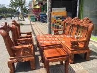Bộ bàn ghế gỗ hương, bộ tam nghê , bàn ghế gỗ hương giá rẻ, bàn ghế tam nghê gỗ