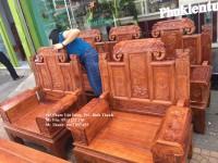 Bộ bàn ghế gỗ hương, bộ á âu cuốn thư, bàn ghế gỗ hương giá rẻ, bàn ghế á âu cuố