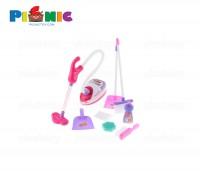 Bộ đồ chơi máy hút bụi kèm dụng cụ vệ sinh