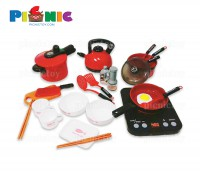 Bộ đồ chơi nấu bếp suite tableware playhouse