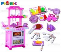 Bộ đồ chơi nhà bếp happy little chef