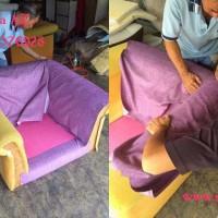 Bọc lại ghế sofa vải quận 4 kiểu tân cổ điển nhà anh thanh