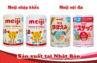 Các loại sữa meiji số 0 có trên thị trường, cách phân..