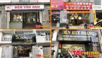 Các cửa hàng bán đèn trang trí – chiếu sáng ở quận hà..