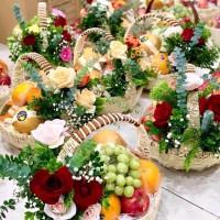 Các mẫu giỏ trái cây 500k phù hợp đi biếu tặng