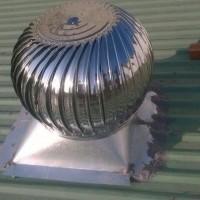 Cách hoạt động của quả cầu thông gió inox