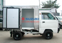 Cách lái xe tải nhẹ suzuki dưới trời mưa bão