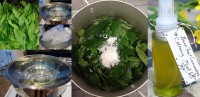 Cách làm toner với lá trà xanh tươi