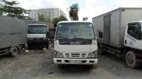 Cần bán xe tải cẩu hiệu isuzu cẩu được 6 tấn