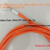 Cáp chống cháy chống nhiễu hosiwell 1x2cx1.0mm2, p/n: if10001p-lszh-fr