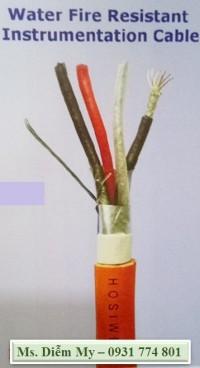 Cáp tín hiệu chống nhiễu chống nước - chống cháy, cáp mạng chống nước
