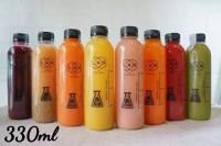 Chai nhựa pet 330ml dùng cho nước ép trái cây và sữa chua các loại