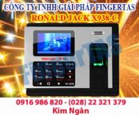 Chấm công vân tay thẻ cảm ứng x938-c tích hợp pin lưu điện