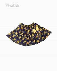 Chân váy bé gái hoa nơ màu vàng (1-5 tuổi)