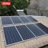 Chi phí lắp đặt điện mặt trời hệ 3kw cho hộ gia..