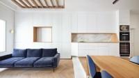 Chia sẻ dự án kiến trúc nội thất chung cư hai ngủ cao cấp