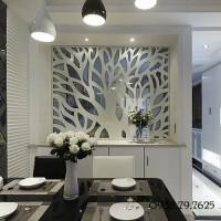 Chiêm ngưỡng vẻ đẹp vách ngăn giữa phòng khách và bếp từ gỗ