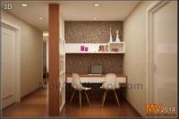 Chung cư mulberry lane được thiết kế và thi công nội thất đẹp